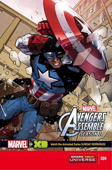 Marvel Universe Avengers Assemble Cover - 4/1/2015