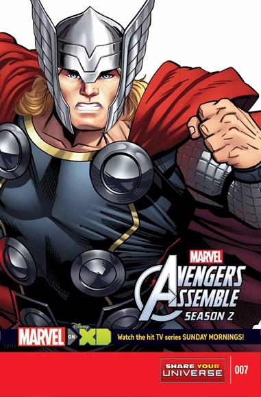 Marvel Universe Avengers Assemble Cover - 7/1/2015