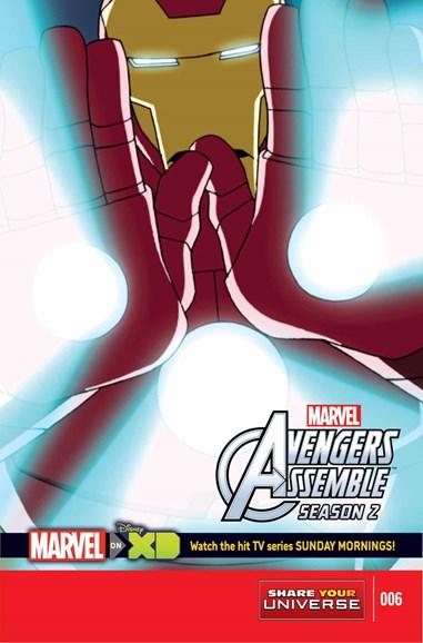 Marvel Universe Avengers Assemble Cover - 6/1/2015