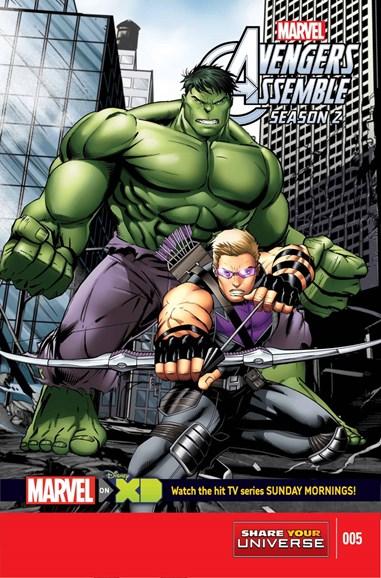 Marvel Universe Avengers Assemble Cover - 5/1/2015