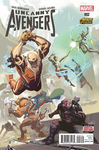 Uncanny Avengers Cover - 4/1/2015