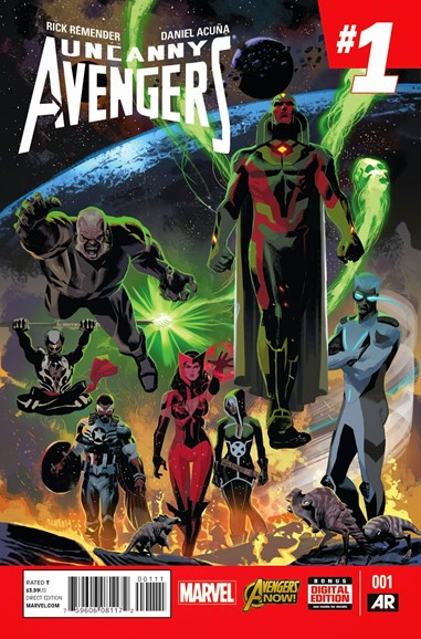 Uncanny Avengers Cover - 3/1/2015