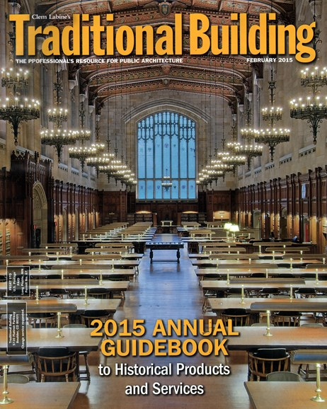 Traditional Building Cover - 2/1/2015