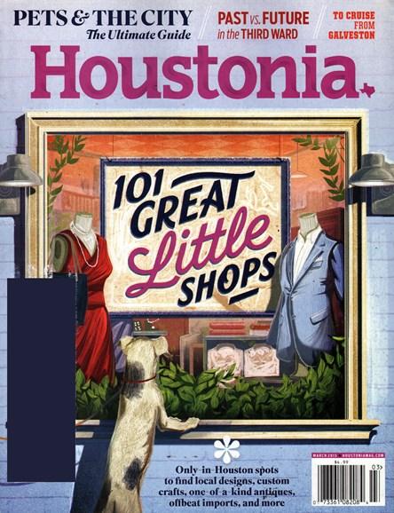 Houstonia Cover - 3/1/2015