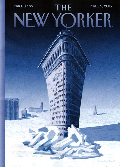 The New Yorker Cover - 3/9/2015