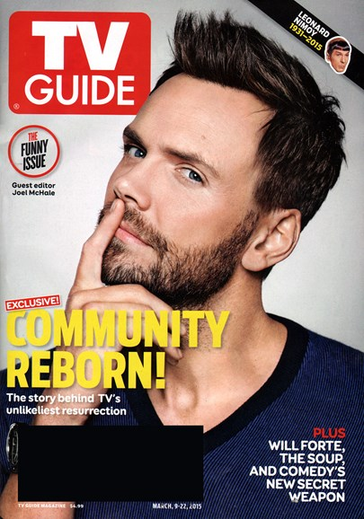 TV Guide Cover - 3/9/2015