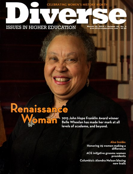 Diverse: Issues In Higher Education Cover - 3/12/2015