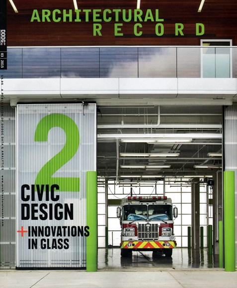 Architectural Record Cover - 3/1/2015