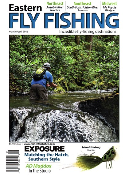 Eastern Fly Fishing Cover - 3/1/2015