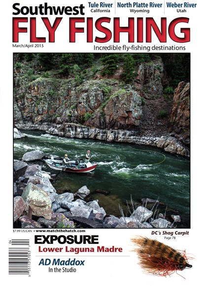 Southwest Fly Fishing Cover - 3/1/2015