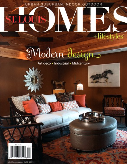 St. Louis Homes & Lifestyles Cover - 3/1/2015