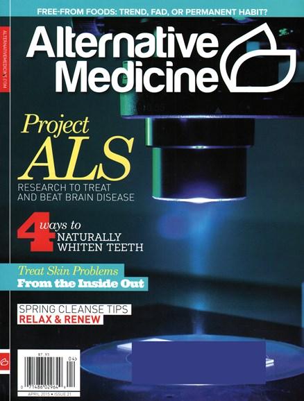 Alternative Medicine Cover - 4/1/2015