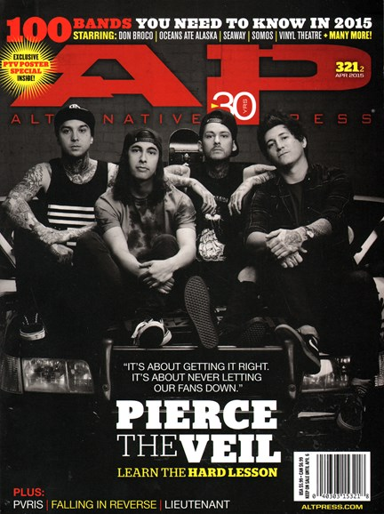 Alternative Press Cover - 4/1/2015