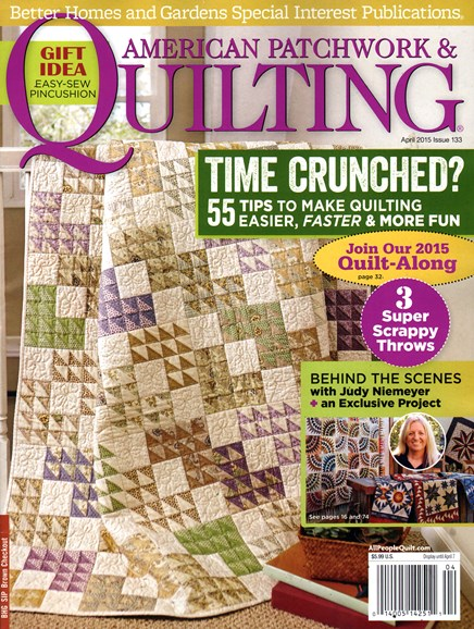 American Patchwork & Quilting Cover - 4/1/2015