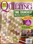 American Patchwork & Quilting Magazine 4/1/2015