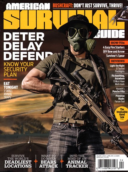 American Survival Guide Cover - 4/1/2015