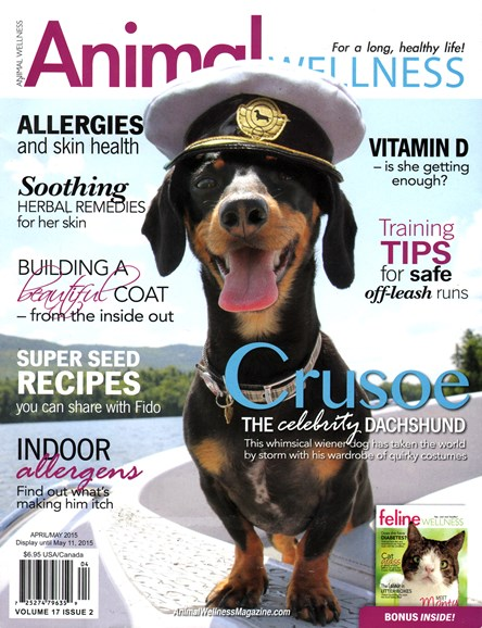 Animal Wellness Cover - 4/1/2015