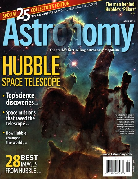 Astronomy Cover - 4/1/2015