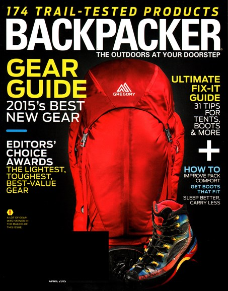 Backpacker Cover - 4/1/2015