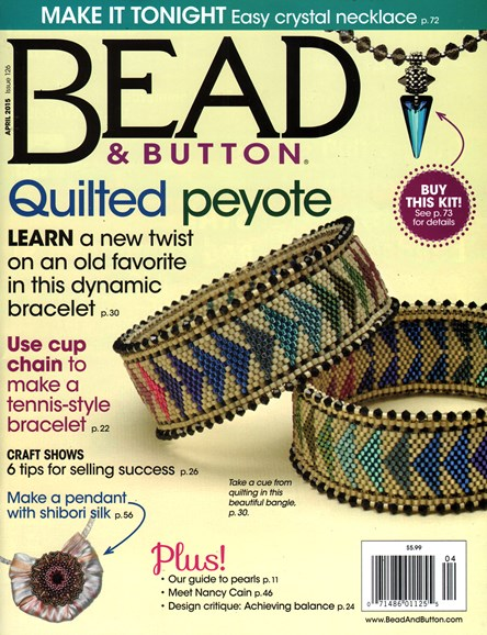 Bead & Button Cover - 4/1/2015