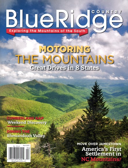 Blue Ridge Country Cover - 4/1/2015