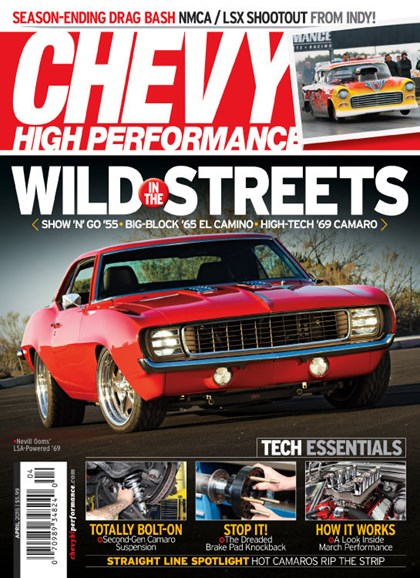 Chevy High Performance Cover - 4/1/2015