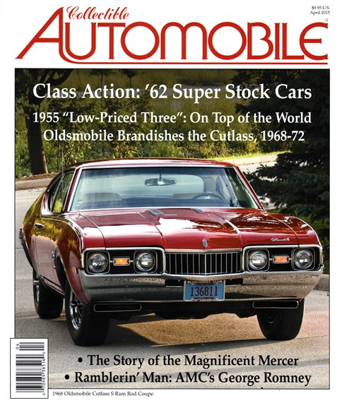 Collectible Automobile Cover - 4/1/2015