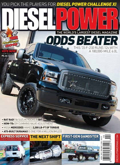 Diesel Power Cover - 4/1/2015