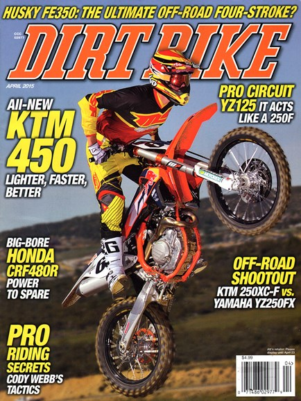 Dirt Bike Cover - 4/1/2015