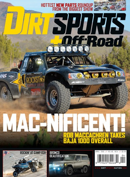 Dirt Sports & Off-Road Cover - 4/1/2015