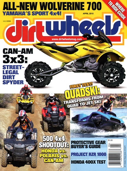 Dirt Wheels Cover - 4/1/2015