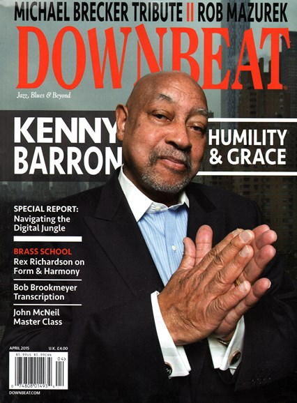 DownBeat Cover - 4/1/2015