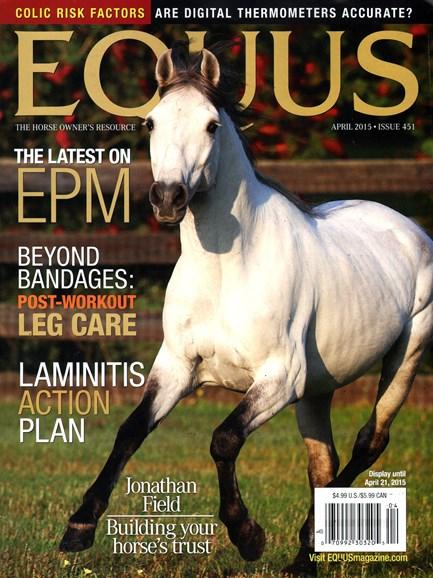 Equus Cover - 4/1/2015
