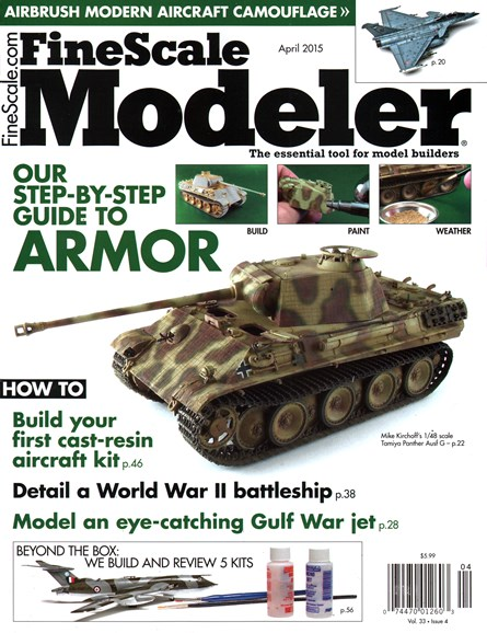 Finescale Modeler Cover - 4/1/2015