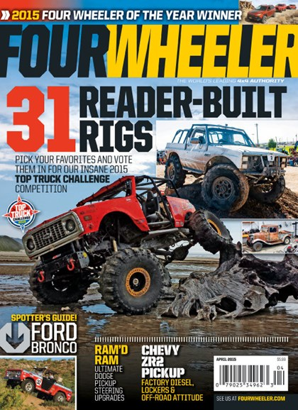 Four Wheeler Cover - 4/1/2015