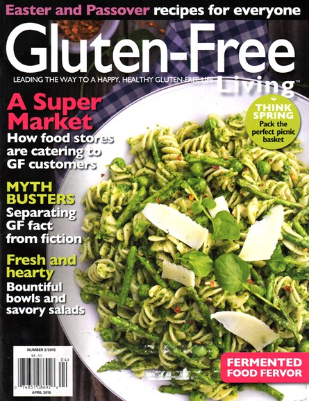 Gluten-Free Living Cover - 4/1/2015