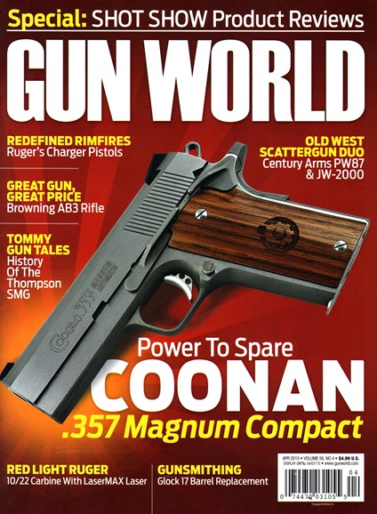 Gun World Cover - 4/1/2015