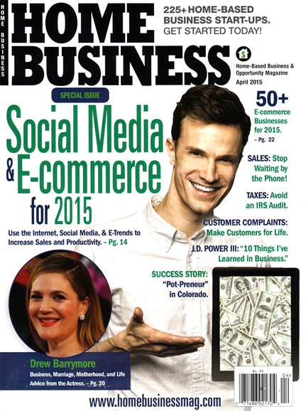 Home Business Magazine Cover - 4/1/2015
