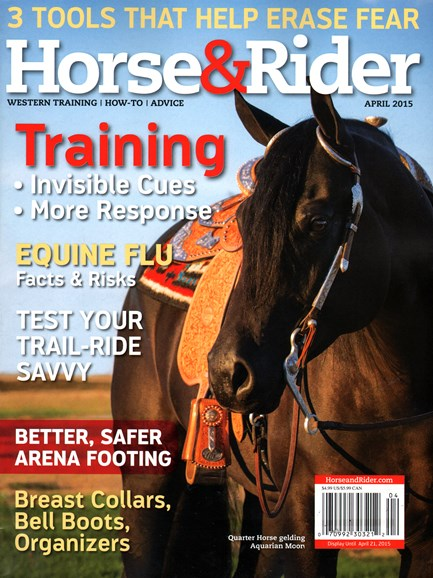 Horse & Rider Cover - 4/1/2015