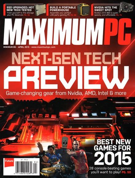 Maximum PC Cover - 4/1/2015