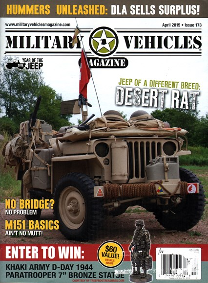 Military Vehicles Cover - 4/1/2015