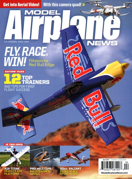 Model Airplane News Cover - 4/1/2015