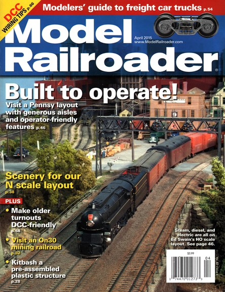 Model Railroader Cover - 4/1/2015