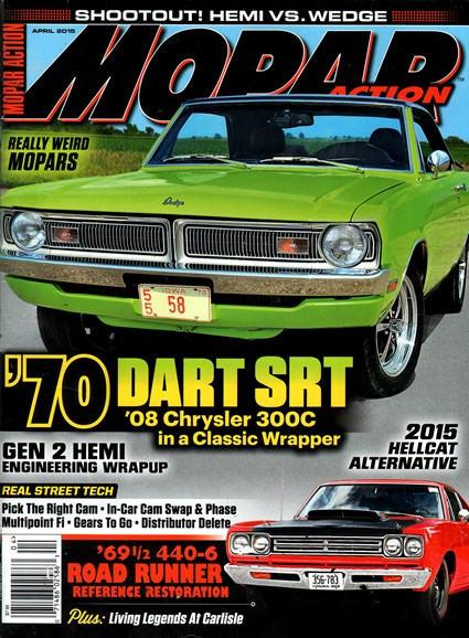 Mopar Action Cover - 4/1/2015