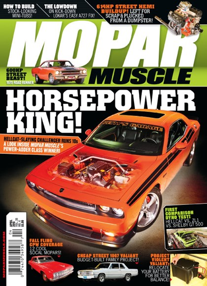 Mopar Muscle Cover - 4/1/2015