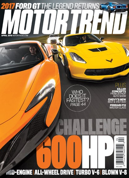 Motor Trend Cover - 4/1/2015
