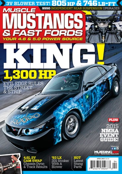Muscle Mustangs & Fast Fords Cover - 4/1/2015