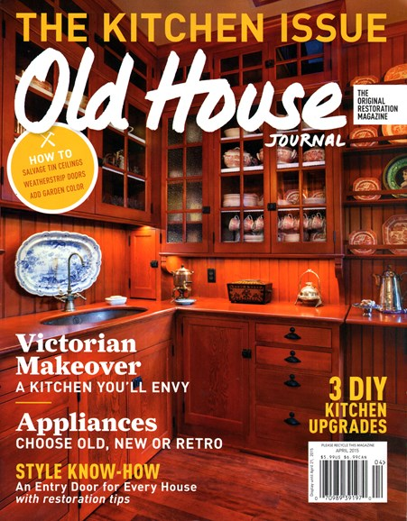 Old House Journal Cover - 4/1/2015