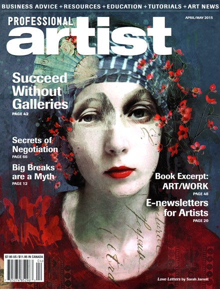 Professional Artist Cover - 4/1/2015