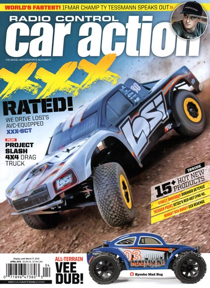 Radio Control Car Action Cover - 4/1/2015